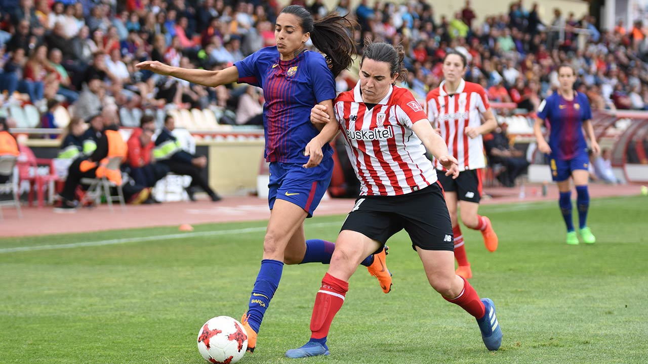 FOTOGALERIA: Athletic Club-Barça (Copa de la Reina, semifinals)