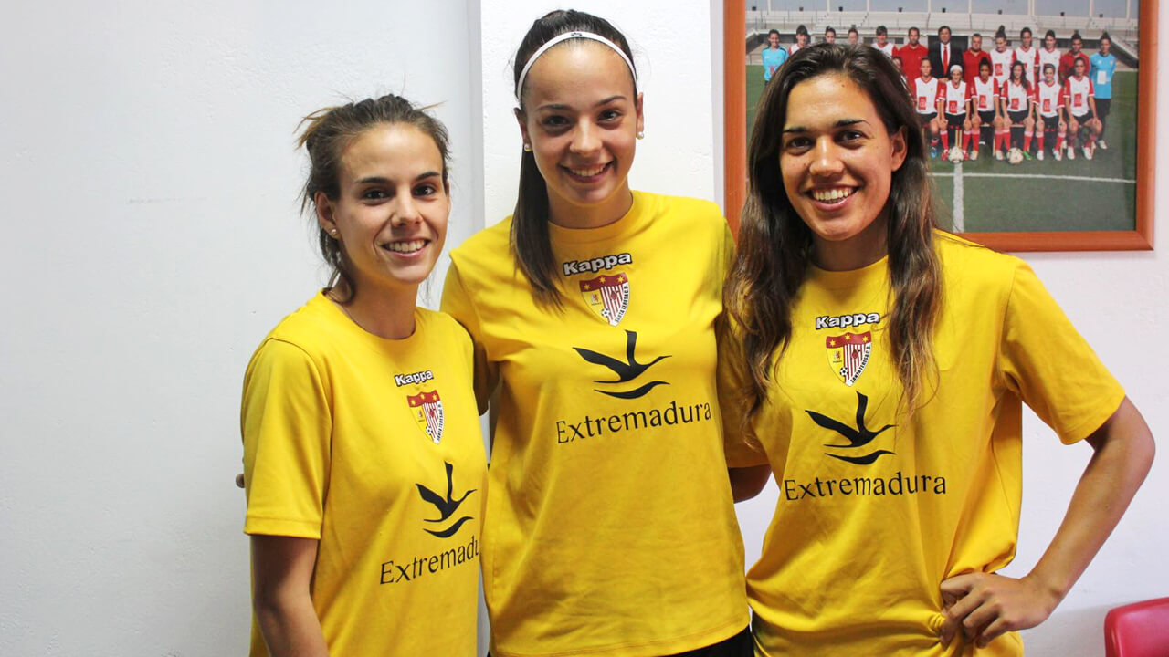 Tres catalanes a terres extremenyes